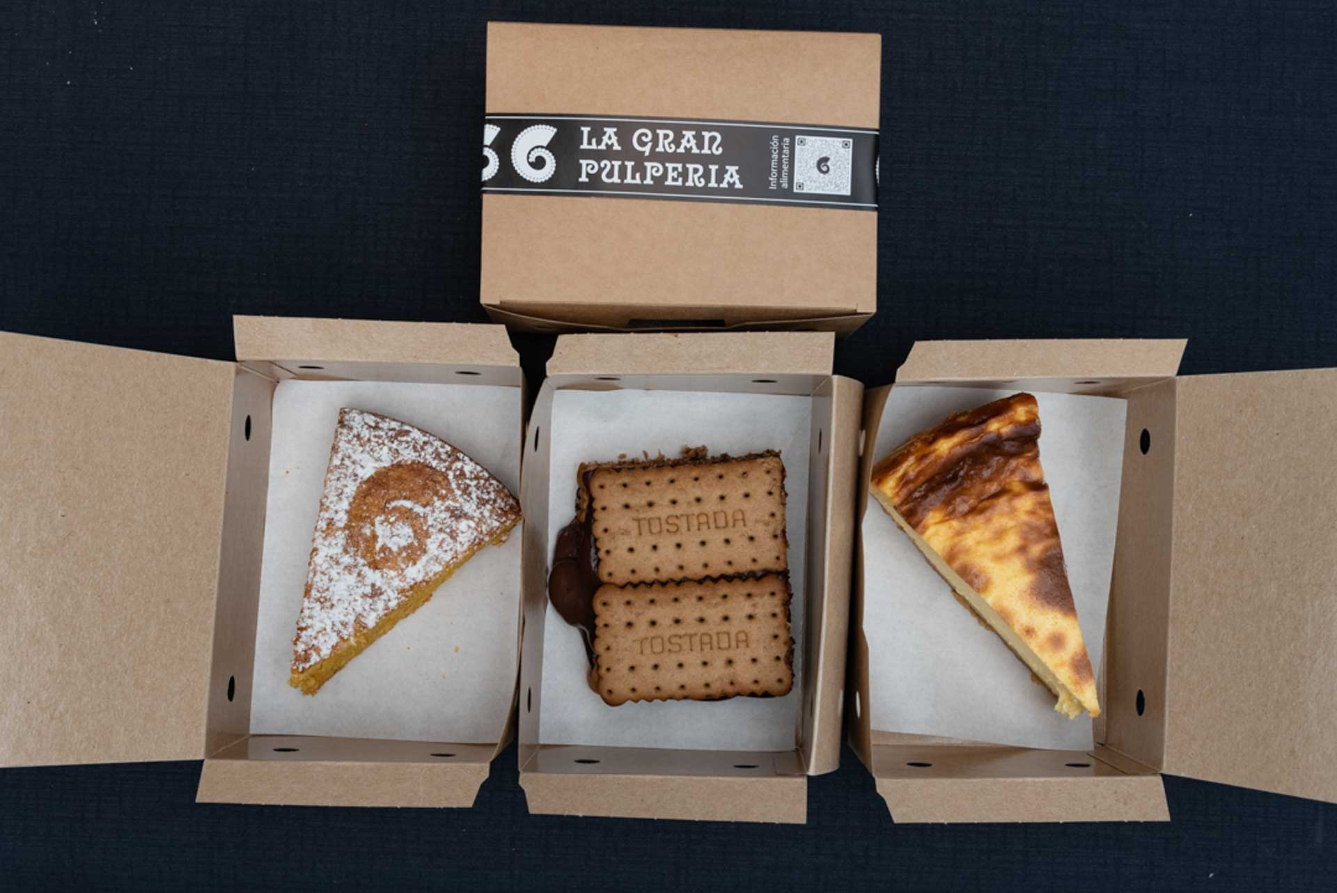 take away desserts from the great pulperia