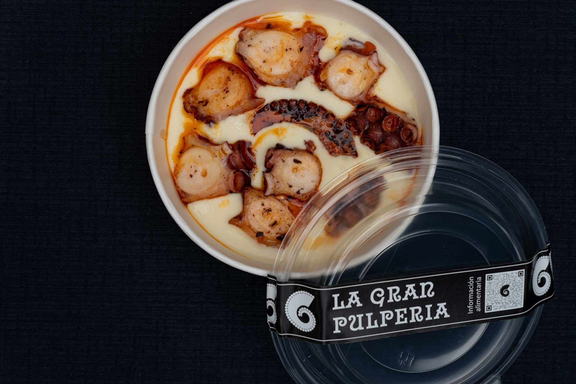 octopus take a way from the great pulperia