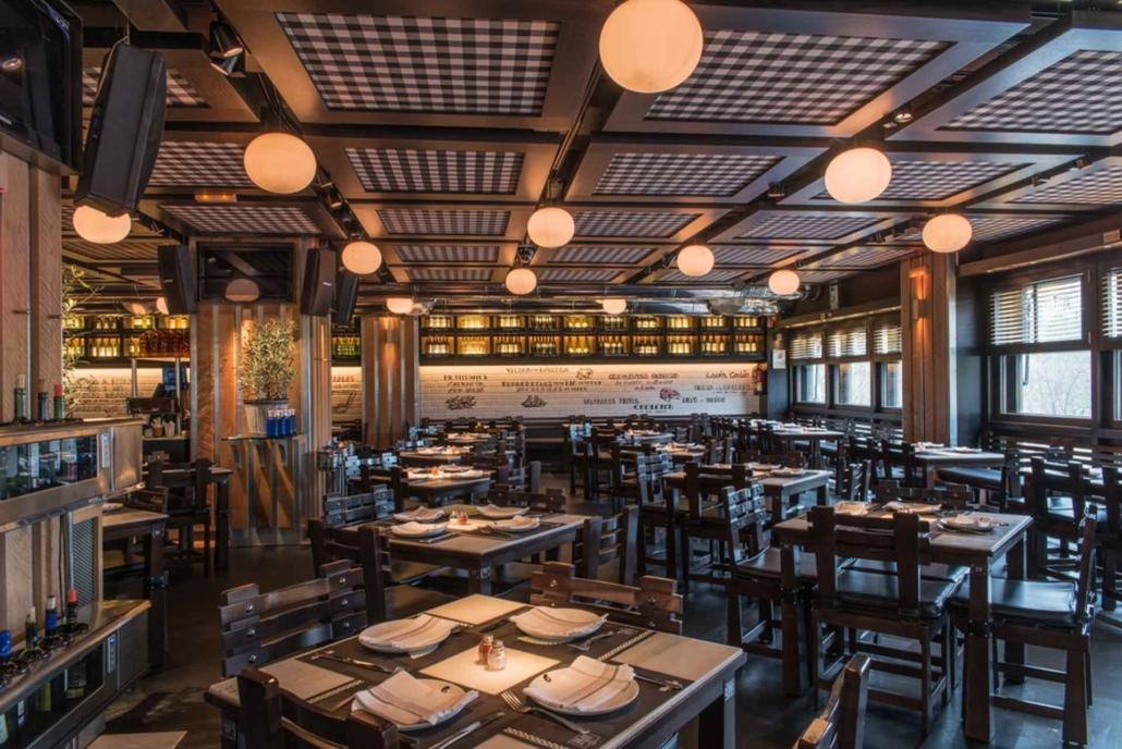 restaurante mesas La Gran Pulperia